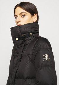Lauren Ralph Lauren - MATTE FINISH COAT  - Down coat - black - 3