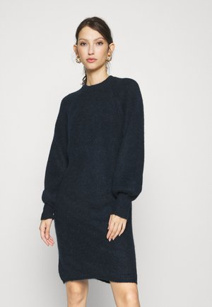 YASALLU O NECK DRESS - Gebreide jurk - sky captain
