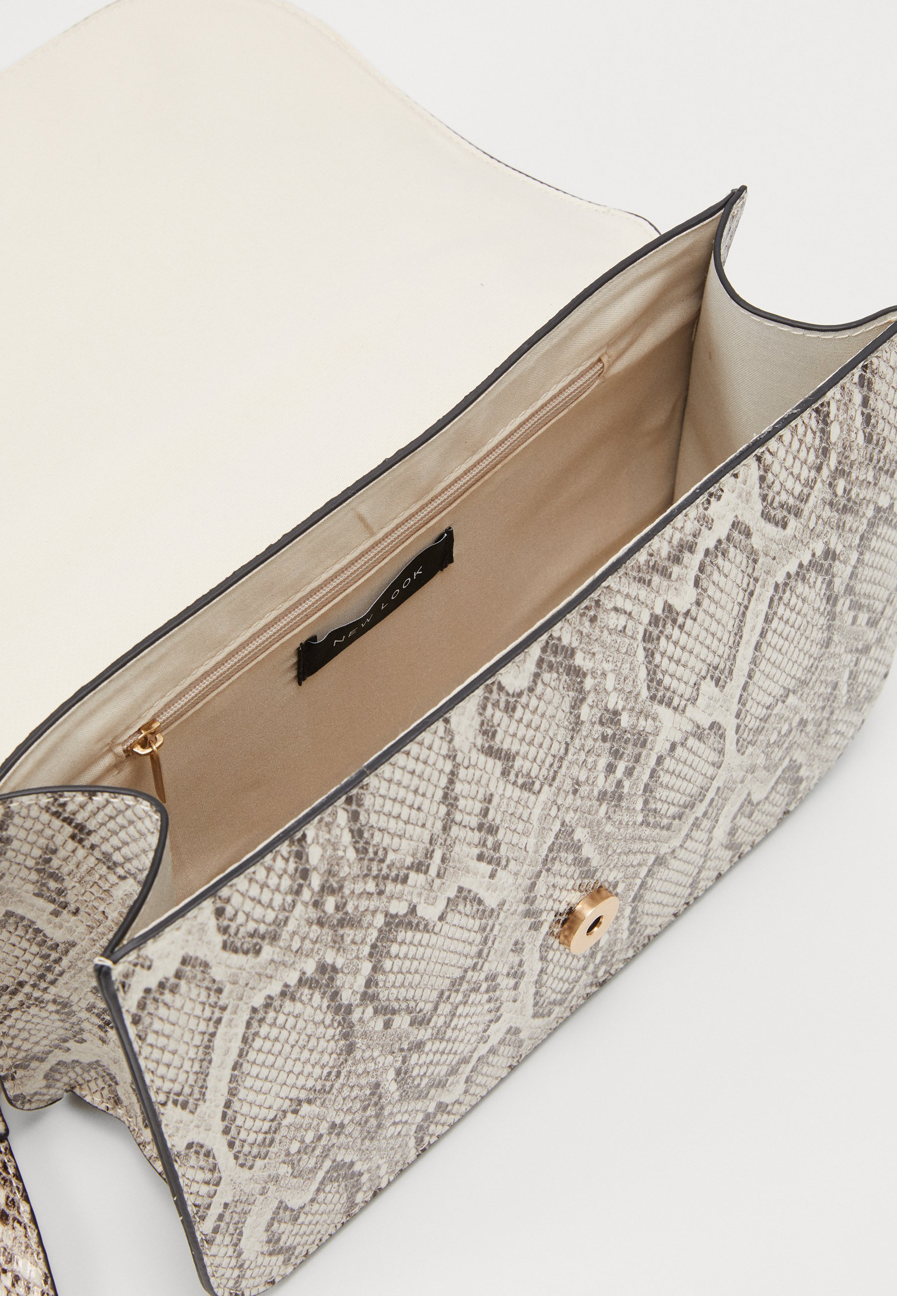 New Look ETTA STURCTURED SHOULDER BAG - Skulderveske - brown pattern/brun MEyi3z9B3GM0gtX