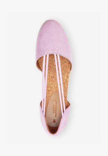 Espadrilles - lilac