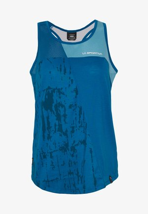 CHEMISTRY TANK - Sports shirt - neptune/pacific blue
