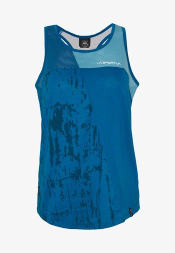 CHEMISTRY TANK - T-shirt sportiva - neptune/pacific blue