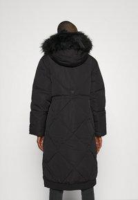 Guess - SVEVA LONG JACKET - Down coat - jet black - 0