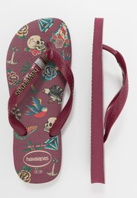 Havaianas - TOP TRIBO - Pool shoes - bordeaux - 0