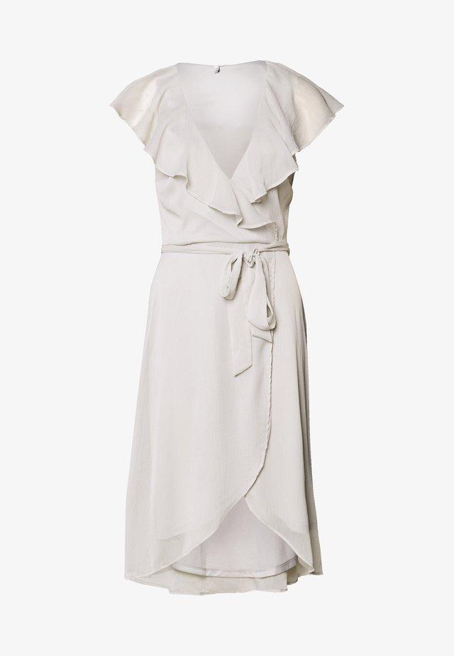 DASHING FLOUNCE DRESS - Cocktailkleid/festliches Kleid - light grey