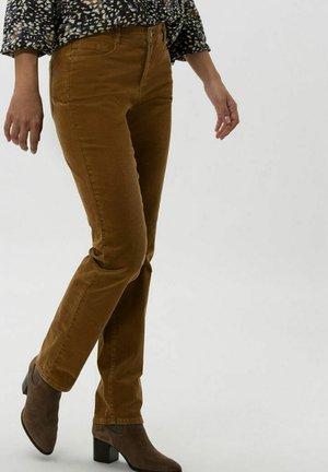 STYLE CAROLA - Trousers - faded caramel