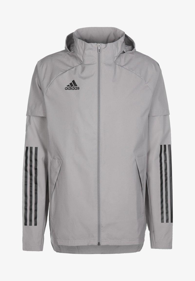 adidas Performance - CONDIVO 20 PRIMEGREEN - Træningsjakker - team mid grey/black