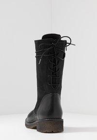 Felmini - CASTER - Lace-up boots - black - 5