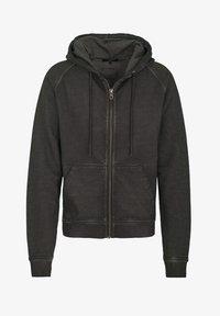 Tigha - RUVEN - Zip-up hoodie - vintage stone grey - 4