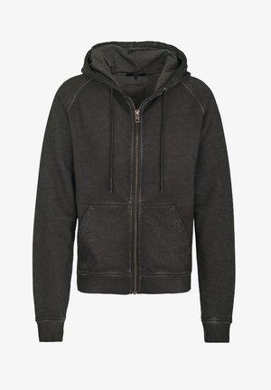 RUVEN - Zip-up hoodie - vintage stone grey