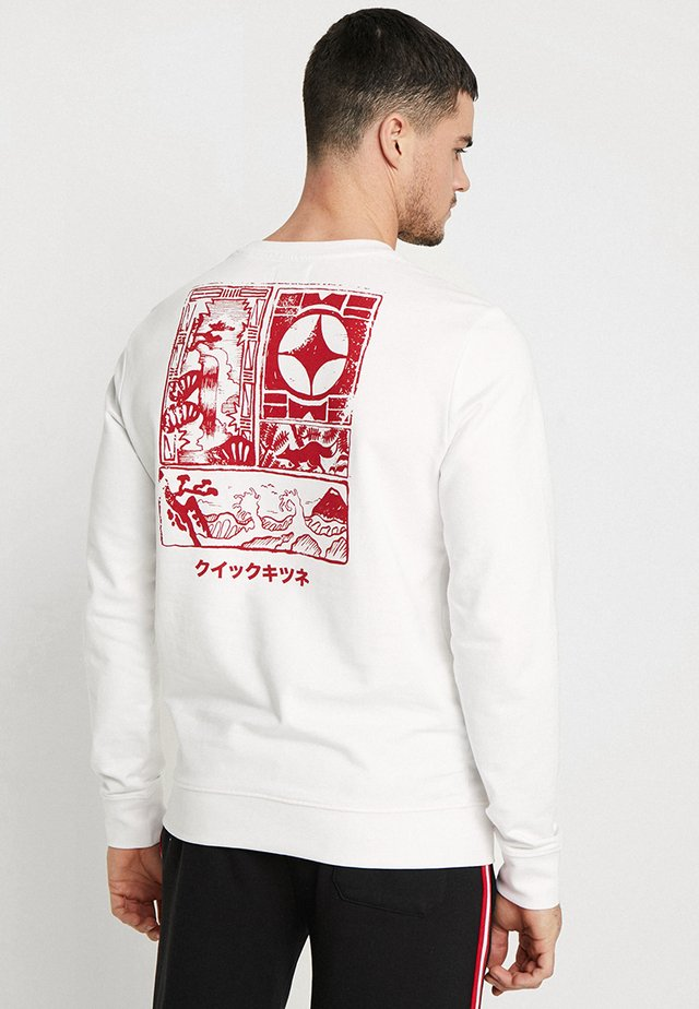 ONSJANNICK - Sweater - white