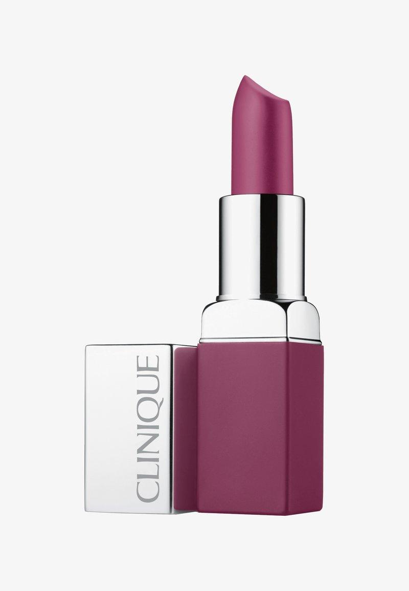 Clinique - POP MATTE LIP COLOUR + PRIMER - Lipstick - 07 pow pop