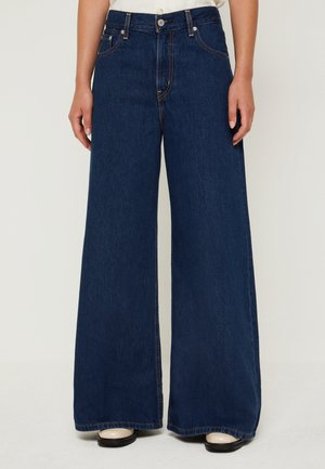 LOOSE ULTRA WIDE LEG - Jeansy Dzwony - at the ready loose