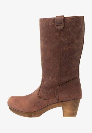 RILO BLOCK FLEX BOOT - Cowboy-/Bikerlaarzen - antique brown