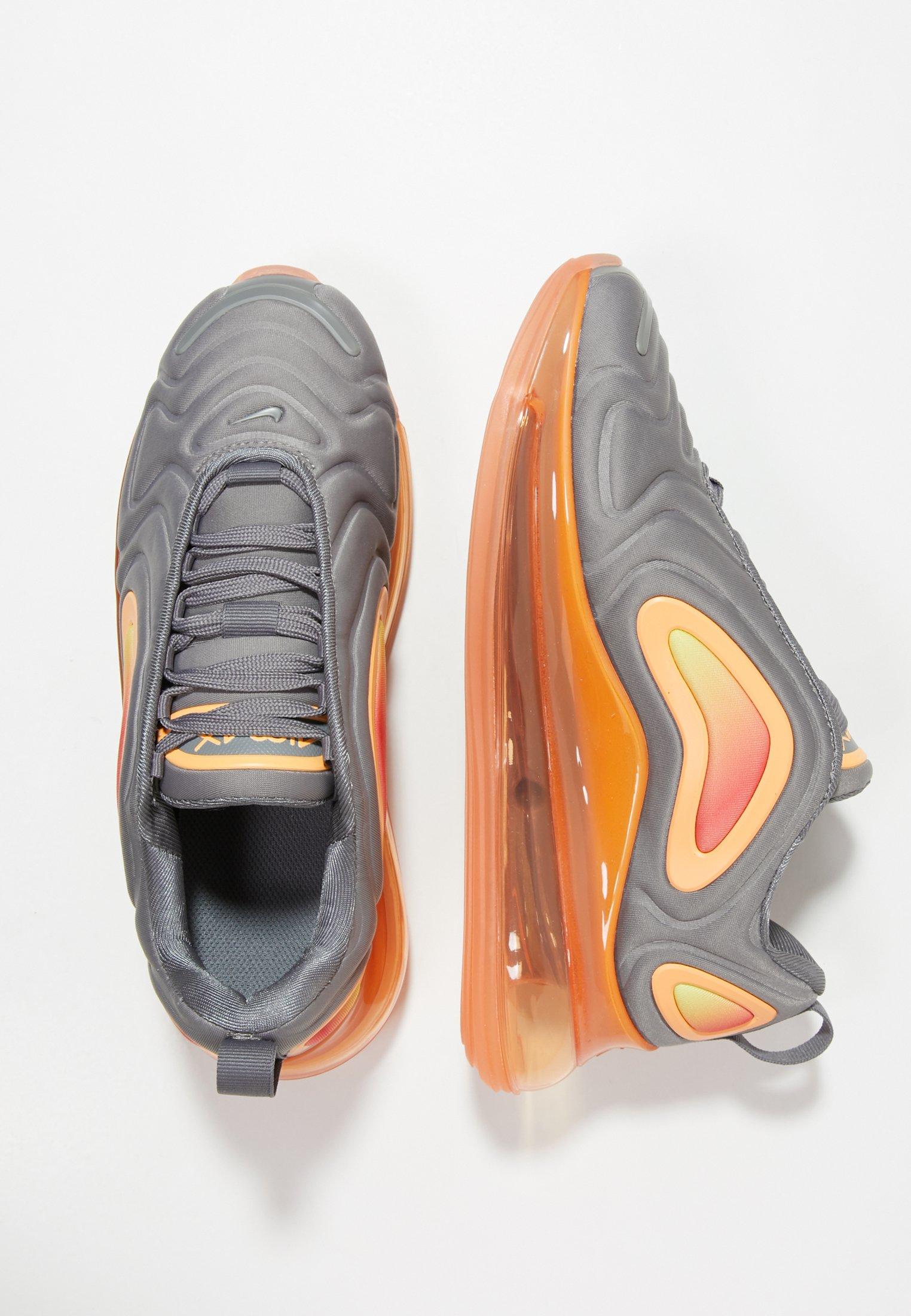AIR MAX 720 - Baskets basses - grey/orange