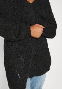 ONLY - ONLHAVANA LONG CARDIGAN  - Cardigan - black - 4