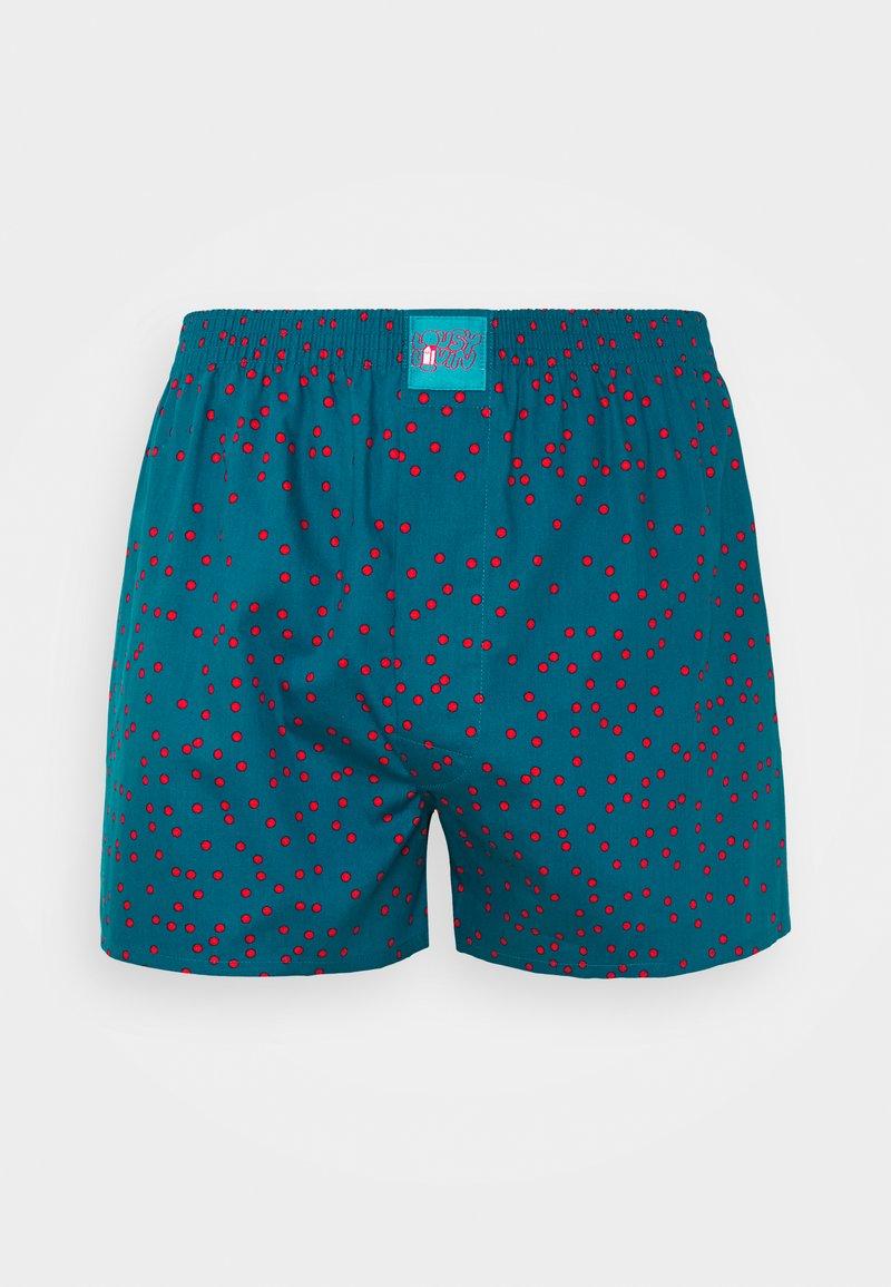 Lousy Livin Underwear - DOTS - Boxer shorts - teal