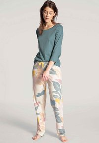 Calida - MIT 3/4-ARM - Pyjama top - eucalyptus - 1