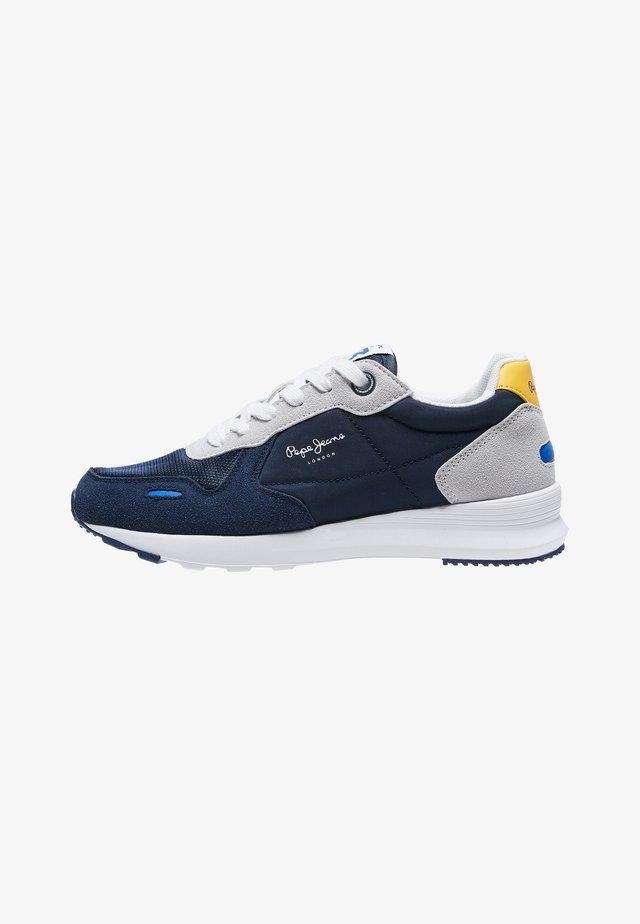 Sneakers laag - azul marino