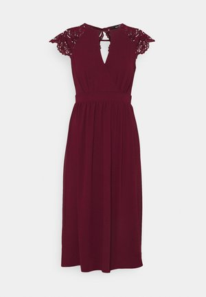 NEITH MIDI - Cocktail dress / Party dress - burgundy