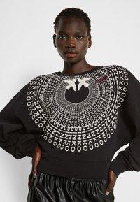 Pinko - ADA  COTONE ORGANICO - Sweater - black - 4