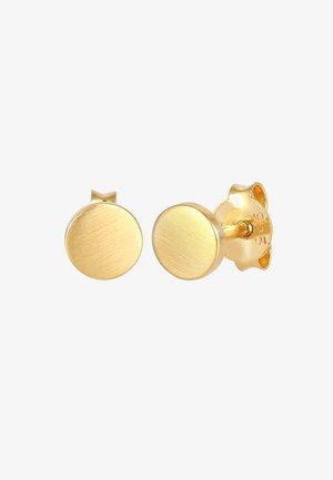 GEO RUND - Pendientes - gold
