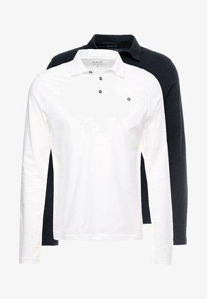 BASIC 2 PACK  - Poloshirt - black/white