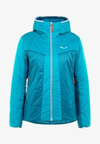 Salewa - HOOD  - Winter jacket - ocean - 5