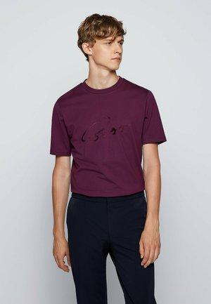 TIBURT - Print T-shirt - purple
