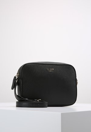 KAMRYN TOP ZIP - Sac bandoulière - black