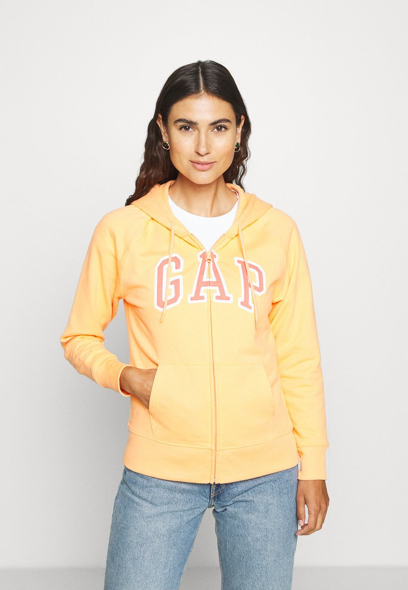 GAP - FASH - Zip-up hoodie - icy orange