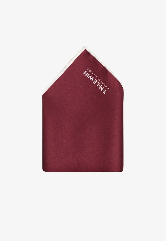 Pocket square - bordeaux