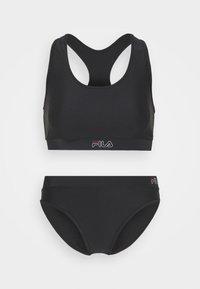 Fila - YAKIMA SET - Bikini - black - 5