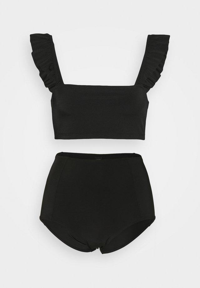 ELLA TOP MARGIE - Bikinit - black