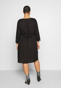 JUNAROSE - by VERO MODA - JROCTAVIA SLEEVES DRESS - Kjole - black - 2
