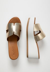 Inuovo - Heeled mules - gold gld - 2