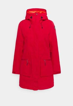 AVENAL - Zimní kabát - burgundy