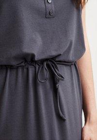 Object - OBJSTEPHANIE MAXI DRESS  - Maxi dress - asphalt - 2
