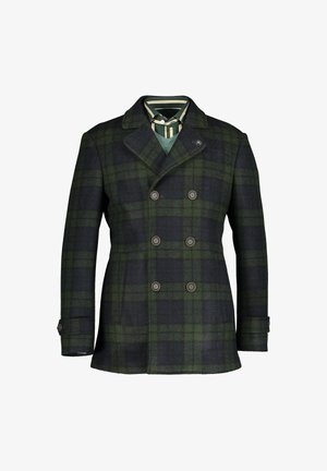 CABAN STYLE - Short coat - dark green/midnight