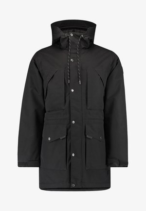 JOURNEY PARKA JACKET - Snowboard jacket - black out