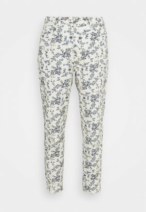 FLORAL RIOT - Jeans relaxed fit - white
