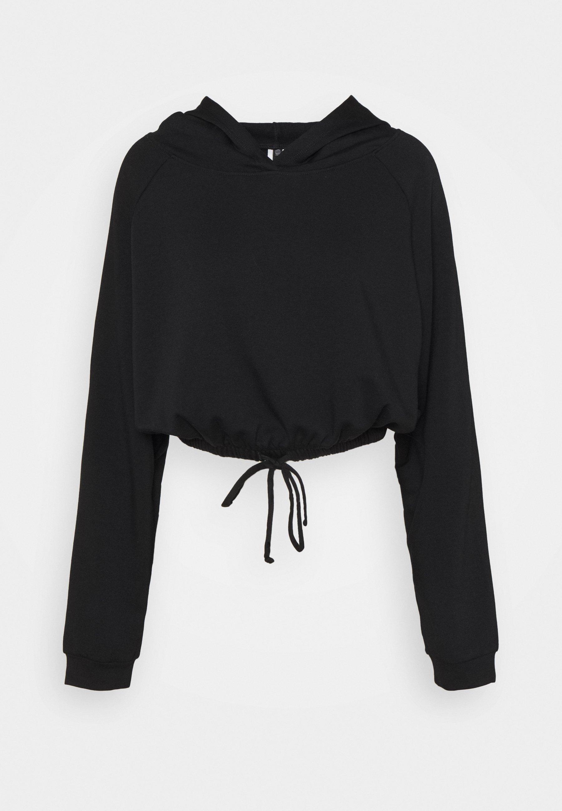 Women CINCH CROP HOODIE - Sweatshirt
