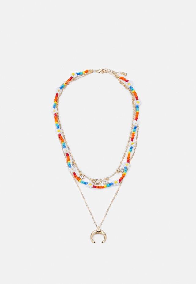 FGKAROLINE COMBI NECKLACE - Halsband - gold-coloured/multi