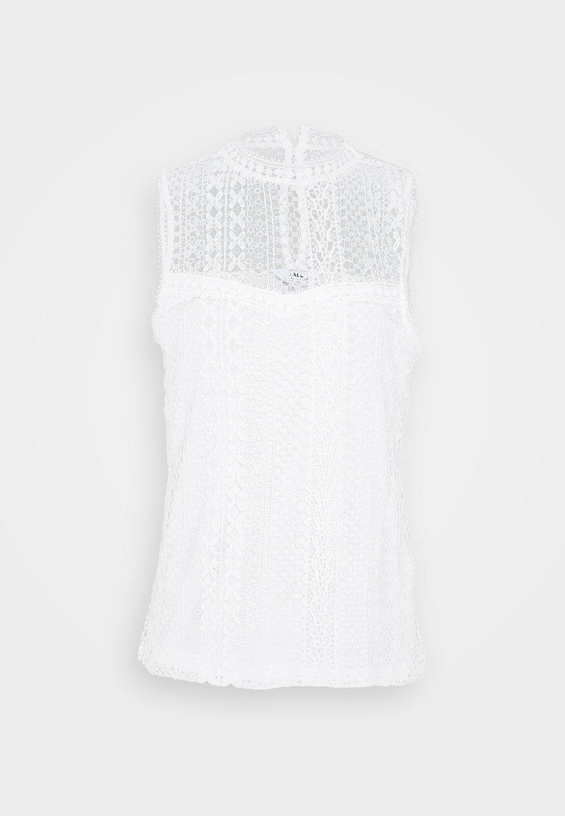 Dorothy Perkins Tall - SLEEVELESS VEST - Top - white