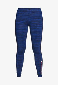 Tommy Sport - HIGH SUPPORT PRINTED LEGGING - Leggings - blue - 5