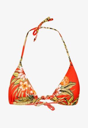 TREO WAIMEA - Bikini top - rouge