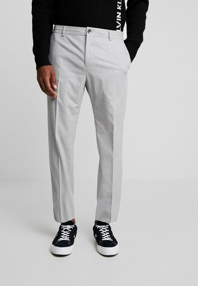 STRETCH COMFORT PANT - Trousers - grey