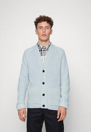 COSY CARDIGAN - Vest - bluish mint melange