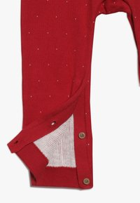 mothercare - BABY FESTIVE FAIRISLE - Jumpsuit - red - 2
