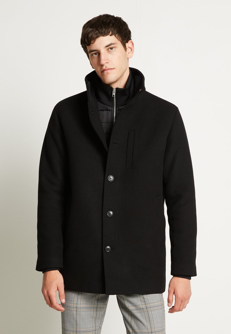 Jack & Jones - JJDUAL JACKET - Classic coat - black